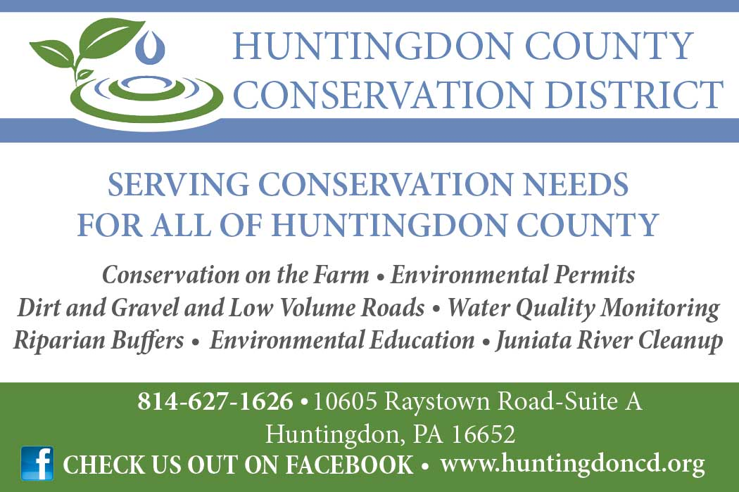 """<center>Huntingdon County Conservation District 