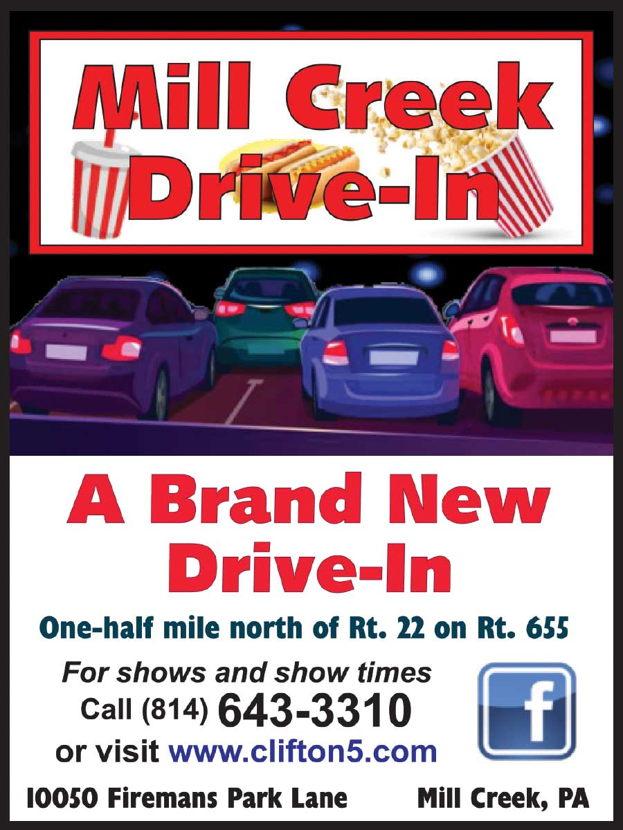 """<center>Mill Creek Drive-In 