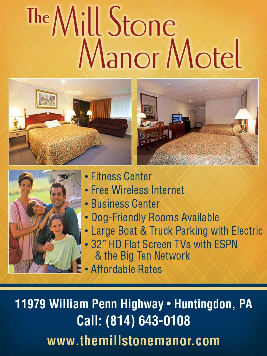"""<center>The Mill Stone Manor Motel 