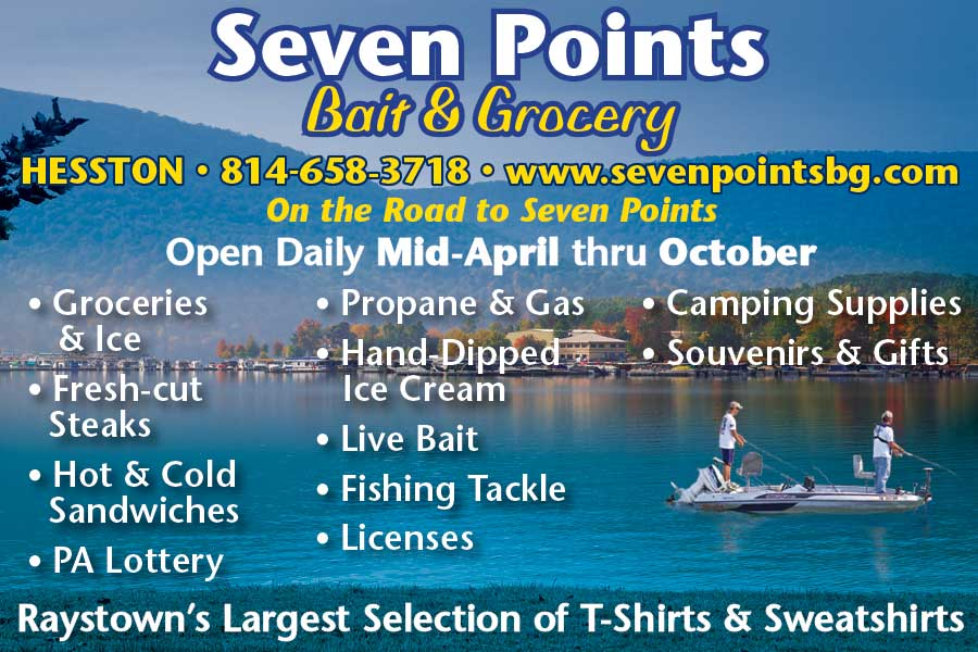 """<center>Seven Points Bait & Grocery 