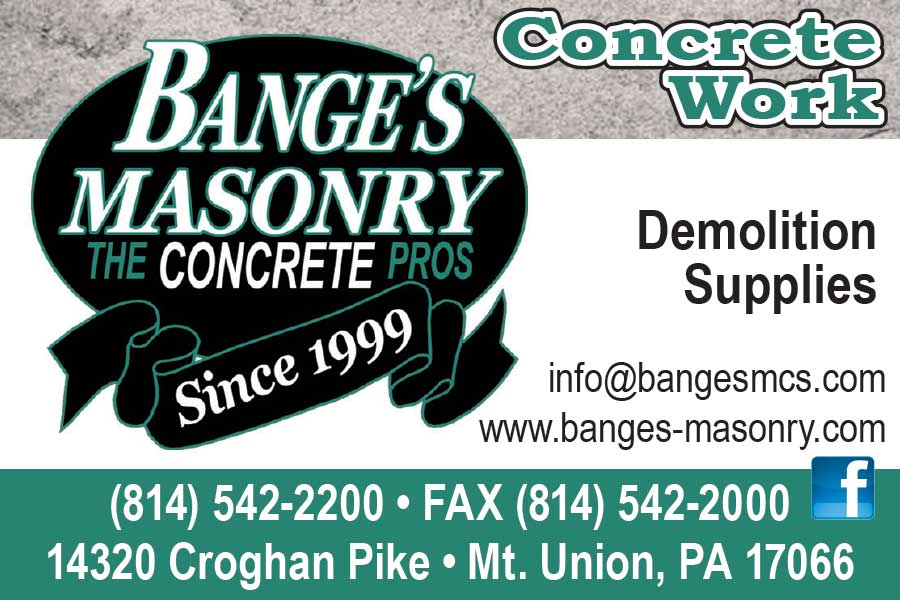 """<center>Bange's Masonry 