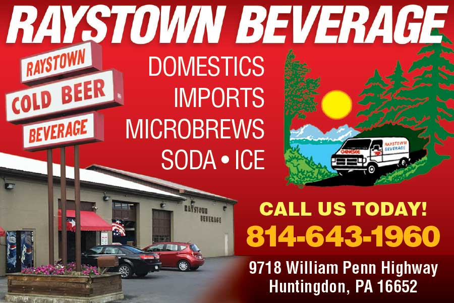 """<center>Raystown Beverage 