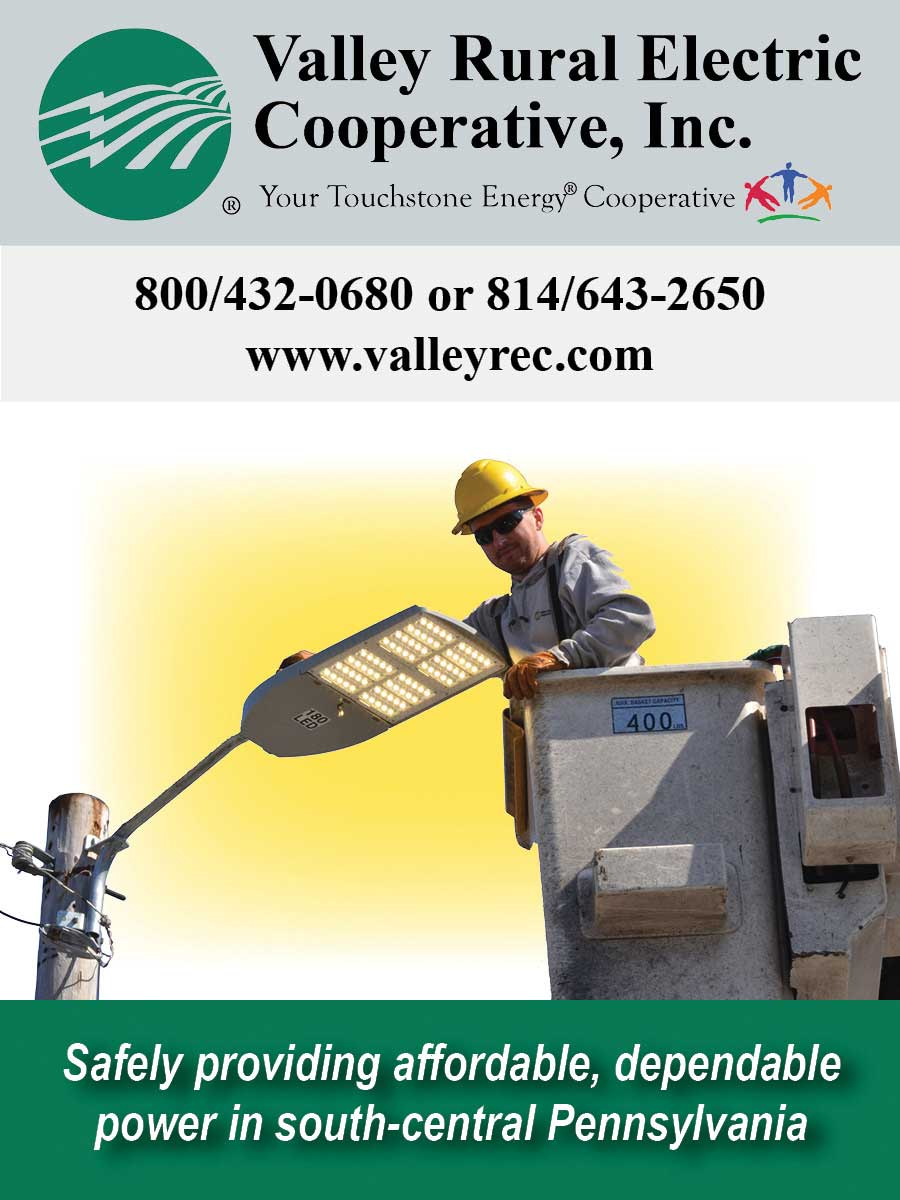 """<center>Valley Rural Electric Cooperative, Inc. 